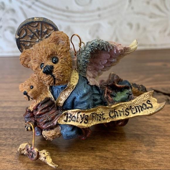 Boyds Bears Matthew With Kip Baby's 1st Christmas